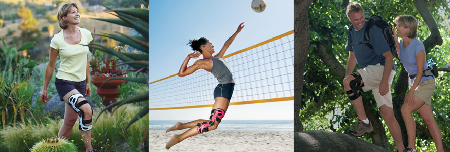 Knee Bracing physiotherapy - Victoria BC