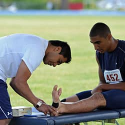 Athletic Sports Taping Physiotherapy