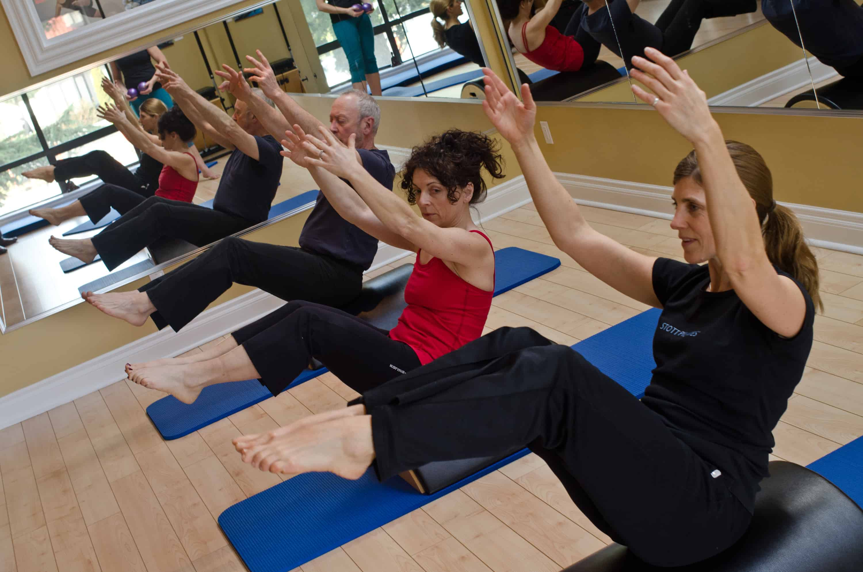 Pilates Victoria Mat Classes